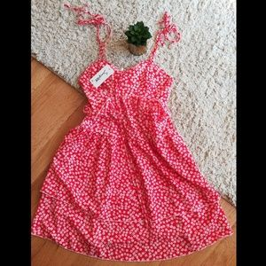 Simplee Spaghetti Strap Floral Dress - NWT